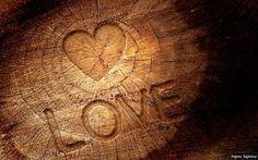 Corazón tallado
