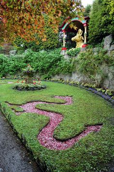Shrine at Biddulph Grange Gardens England