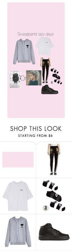 """Sweatpants lazy days"" by jno712 ❤ liked on Polyvore featuring Cynthia Rowley and NIKE"