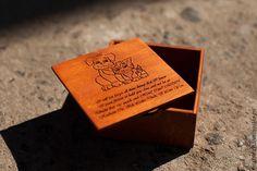 Купить Деревянная коробочка с любым рисунком или фразой - коричневый, деревянная коробка, упаковка, коробочка