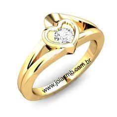 Detalhes do Produto:          Anel de noivado diamante em ouro amarelo 18K 750 Pedras: 01 diamante 0,20 pontos no anel   Classificaçao: VS2- Cor J ou K  Modelo: Anel de noivado feminino polido Largura: 6mm Peso Médio: 6,0grs Acabamento: Anel de noivadodiamantepolido maciço  Detalhes: Disponivel em todos os tamanhos Garantia: Acompanha certificado de garantia eterna pela autenticidade do teor do ouro, bem como o diamante.              PRAZO DE ENTREGA 010 DIAS úTEIS após…