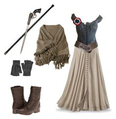 """""""Les Miserables"""" by rebellious-ingenue ❤ liked on Polyvore"""