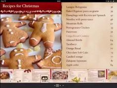 """Take a look at this sneak peek of """"Recipes for a wonderful Christmas"""""""