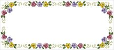 Cross Stitch Flowers, Pansies, Embroidery Stitches, Crochet, Floral, Jewelry, Bed Sheets, Stitching, Pink Tablecloth