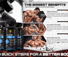 Alpha Fuel Muscle - Trial - means for muscle growth