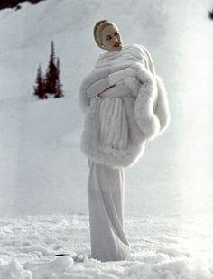 la mirada vintage de Vogue especial Navidad