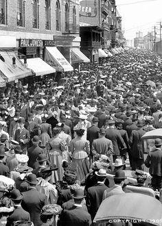 Atlantic City Boardwalk, 1905,