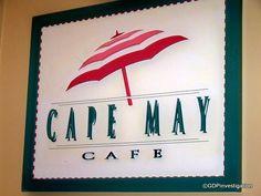 Cape May Cafe. Walt Disney World