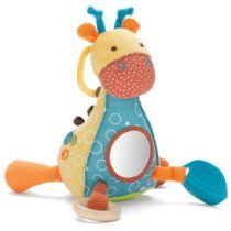 Matches Giraffe Safari bedding and toy collections. large mirror on giraffe's chest; front legs can be pulled back and - Toddler Play Toys Baby Activity Toys, Infant Activities, Sensory Activities, Safari, Toddler Toys, Kids Toys, Bath Toys, Stuffed Toys Patterns, Educational Toys
