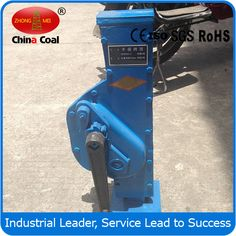 chinacoal03 Ratchet Rail Jack with Safety Crane Handle Keyword:Ratchet rail jack,jack,rail jack Product Introduction a) Lifting - track jack should be smoothly completed with a length of 1.5 meters of steel steel rod inserted into the handle hole and up and down reciprocating throw to ascend a height it is needed. b) Slow down-turn slowly drop control handle up to braking position will lever up and down throw, every reciprocating or one tooth at a time.
