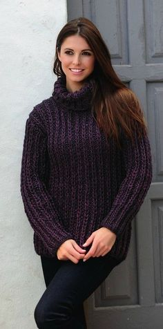 20 Women Sweaters You Will Want To Keep - Fashion New Trends Thick Sweaters, Cute Sweaters, Girls Sweaters, Cardigans For Women, Modest Fashion, Fashion Outfits, Fashion Clothes, Style Fashion, Mohair Sweater