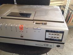 Vintage Sony Betamax SL-C5UB VCR Video Cassette Recorder Faulty For Spares Or Repair 2 | eBay............................................................Please save this pin... ........................................................... Visit!.. http://www.ebay.com/usr/prestige_online