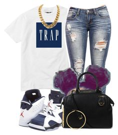 """""""Untitled #81"""" by jaziscomplex ❤ liked on Polyvore featuring NIKE and Michael Kors"""