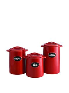 Amazing American Atelier Canisters, Set of 3