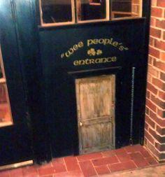 Irish Pub Entrance