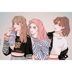 ~ From '' Jimin & Suga & Jungkook (my lovers) [BTS] '' xMagic xNinjax 's board ~ Jimin Fanart, Kpop Fanart, Bts Chibi, Fan Art, Character Inspiration, Character Design, Manga Anime, Bff Drawings, Bts Girl