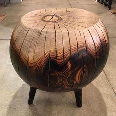 Wooden stool  Wooden stool