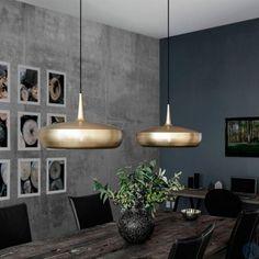 Clava Dine lampenkap VITA Copenhagen staal - Bestel hem hie