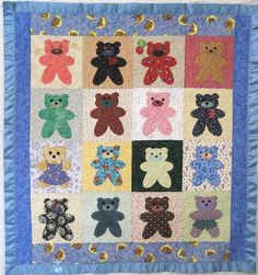 patchwork posse sage kitty | Here is a quilt that Threadheads made using this technique: