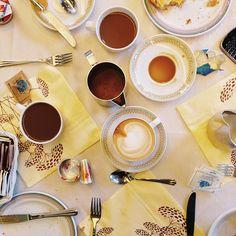 Buongiorno! (at Poker Hotel Riccione) I Love Coffee, Hotel, Chocolate Fondue, Tableware, Desserts, How To Make, Food, Italia, Tailgate Desserts