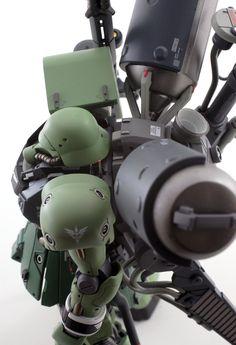"Custom Build: HGUC 1/144 Geara Zulu ""Gilboa Sant Use"" - Gundam Kits Collection News and Reviews"