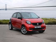 Used 2015 reg) Cadmium Red Metallic Smart Forfour Hatchback Passion for sale on RAC Cars Smart Forfour, Smart Auto, Concept Cars, Dream Cars, Metallic, Passion, Green, Autos