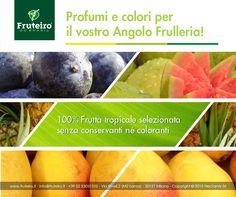 Scegli la nostra polpa di frutta per ampliare la tua offerta come gelateria, bar o cocktail bar creando un angolo frulleria con bevande naturali e salutistiche! http://www.fruteiro.it/frutti-tropicali-brasiliani #Fruteirodobrasil #Angolofrulleria #Polpadifrutta #Fruttatropicale