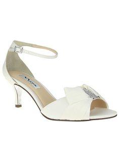 Nina Bridal CYPRIAN_IVORY Wedding Shoes photo