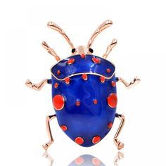 CINDY XIANG Enamel Beetle Brooches for Women Cute Fashion Bug Brooch Pin Blue Color New Arrival 2018 High Quality Jewelry Gift. Jewelry Sets, Jewelry Accessories, Women's Brooches, Unique Animals, China Fashion, Cute Fashion, Beetle, Brooch Pin, Vintage Jewelry