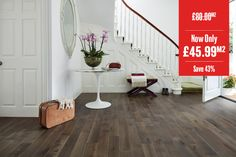 Home Choice Solid European Nature Oak Click Flooring x Coffee UV Oiled Wood Flooring Uk, Click Flooring, Real Wood Floors, Floors Direct, Stock Clearance, Engineered Wood, Solid Oak, Coffee, Nature
