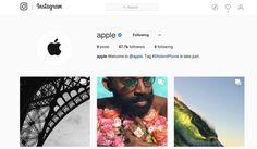 Si queres estar a tono con todo lo nuevo de Apple y ver el poder de sus cámaras; podes seguir la cuenta oficial en Instagram. Obviamente ya usaba la red social solo para realizar publicidad; la dif…