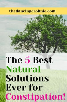 Do you suffer from constipation? Perhaps you have Crohn's Disease, Ulcerative Colitis or IBS? Do you have chronic digestive issues? If so, read about the 5 best natural solutions or remedies for constipation! Ways To Relieve Constipation, Therapeutic Essential Oils, Reduce Bloating, Ulcerative Colitis, Natural Health Tips, Crohns, Invisible Illness