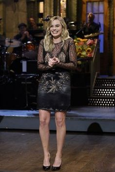 Margot Robbie pledges support for marriage equality on 'SNL': National treasure.