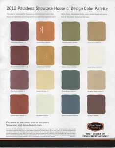 Color Schemes For Houses interior color palettes for arts & crafts homes | bungalow, spaces
