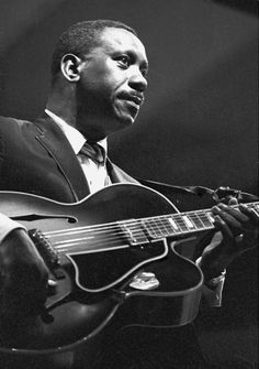 Many would say Wes Montgomery is the greatest jazz guitarist to live, and with good reason. He pioneered what Jazz guitar was to sound like, and he played with a classical fervour and blues artistic sensibilities that only wows the listener. A legendary musician.