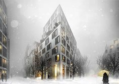 CGarchitect - Professional 3D Architectural Visualization User Community   Housing building