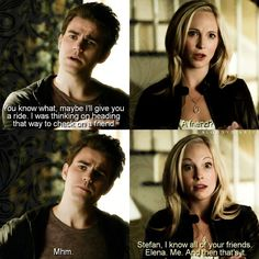 "#TVD 6x11 ""Woke Up With a Monster"" - Stefan and Caroline"