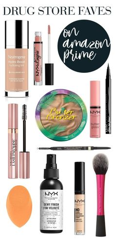 the best drug store makeup on amazon prime