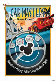 New Merchandise Rides Into Downtown Disney West Side for Car Masters Weekend on June 14-15, 2014