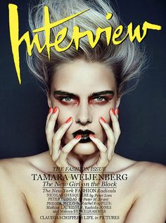 Interview Magazine Cover | Flickr - Photo Sharing!