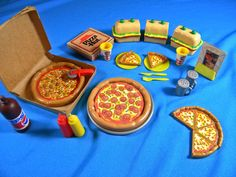 Old pizza hut Barbie play set :) I own this and took this photo.
