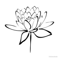 minimalist flower drawing - Google Search