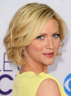 Soft Wavy Hairstyle for Short Hair 2014: Brittany Snow's Hairstyle