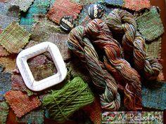 Fiber Art Reflections: Pin Loom Weaving