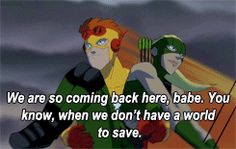 Kid Flash and Artemis moments - Young Justice  I just re watched these episodes their all so sad