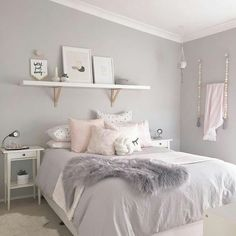 30 French Country Bedroom Design and Decor Ideas for a Unique and Relaxing Space - The Trending House Room Ideas Bedroom, Home Decor Bedroom, Bedroom Wall, Bed Room, Dorm Room, Bedroom Inspo, Bedroom Designs, Budget Bedroom, Teen Girl Bedrooms