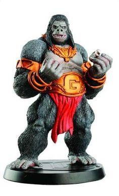 Eaglemoss DC Comics Gorilla Grodd Lead Figurine