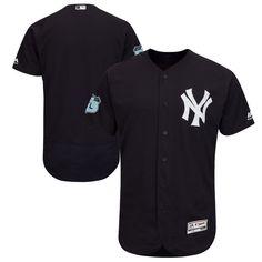 New York Yankees Majestic 2017 Spring Training Authentic Flex Base Team Jersey - Navy - $264.99