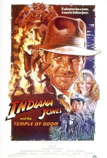 Indiana Jones and the Temple of Doom (1984) - Classic  Action | Adventure - After arriving in India, Indiana Jones is asked by a desperate village to find a mystical stone. He agrees, and stumbles upon a secret cult plotting a terrible plan in the catacombs of an ancient palace. Stars: Harrison Ford, Kate Capshaw, Jonathan Ke Quan ♥♥♥