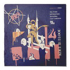 Slayer - Reign Blood - Classic Metal Albums Redesigned by Rafa Melandi
